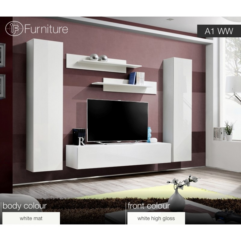 Wall Unit FLY A1 - IF-Furniture - high quality living room furniture ...