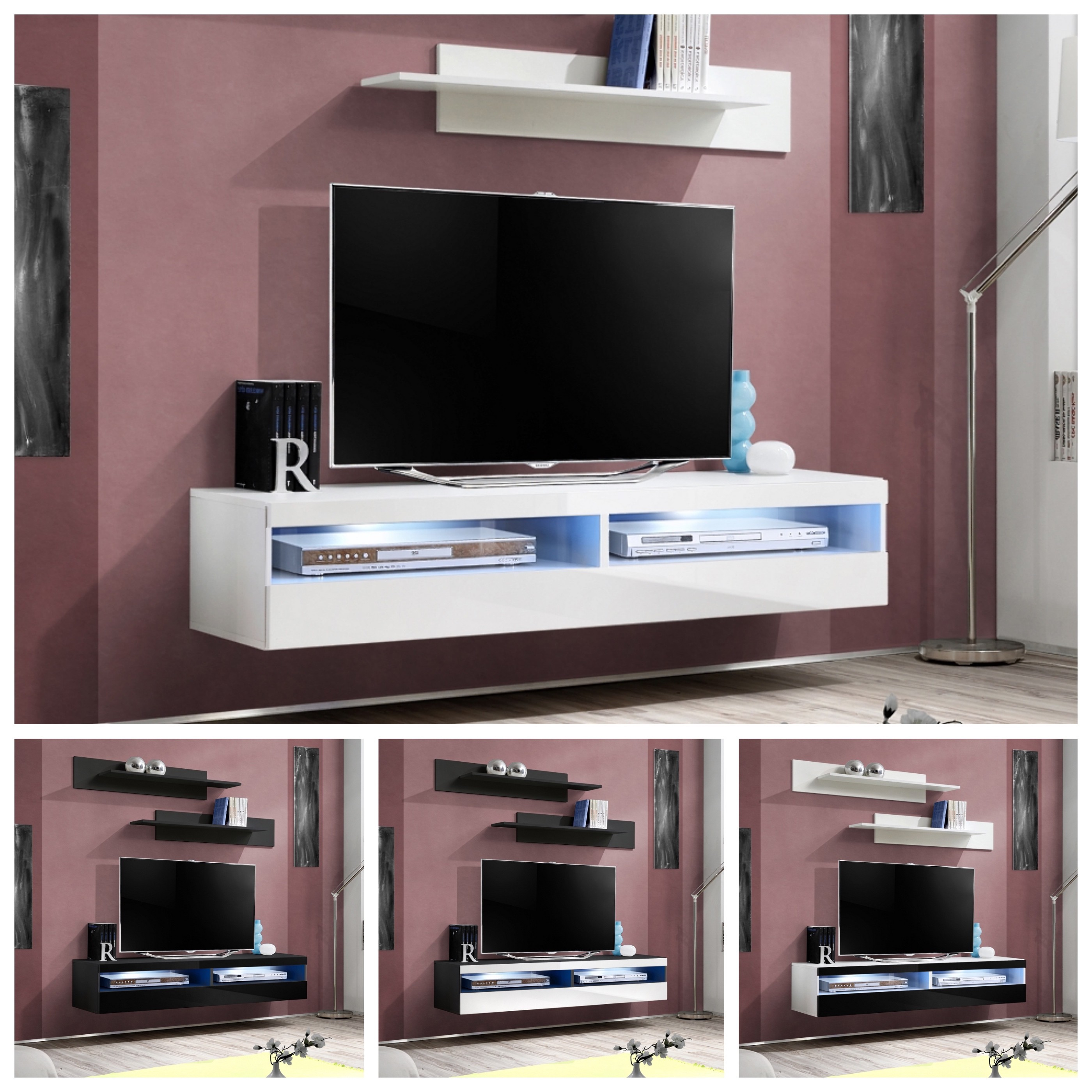 TV Table TV Cabinet FLY T35 High Gloss - IF-Furniture - high quality living  room furniture at the best price
