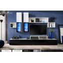 Modern Wall Unit Dispaly VELVET High Gloss