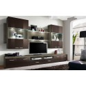 Modern Wall Unit Dispaly Living Room Unit High Gloss Furniture  SPACE High Gloss