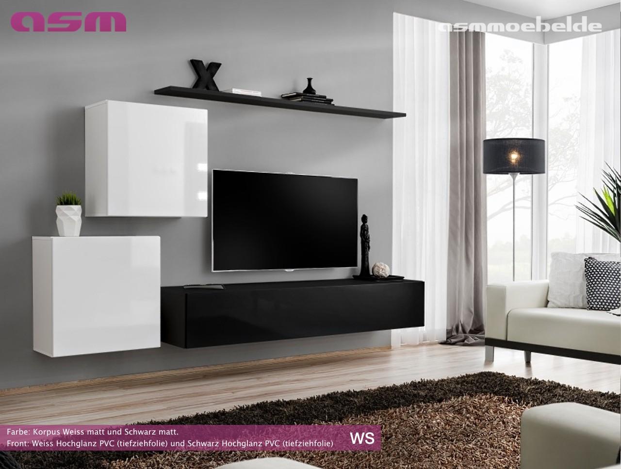 V Modern Furniture. Modern Wall TV Display Living Room Unit High Gloss  Furniture SWITCH V