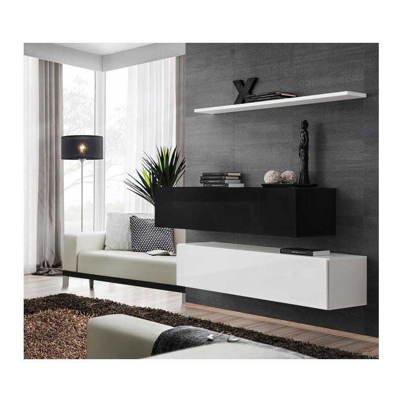 Modern Furniture Zw modern chest drawers cabinet sideboard cupboard high gloss switch