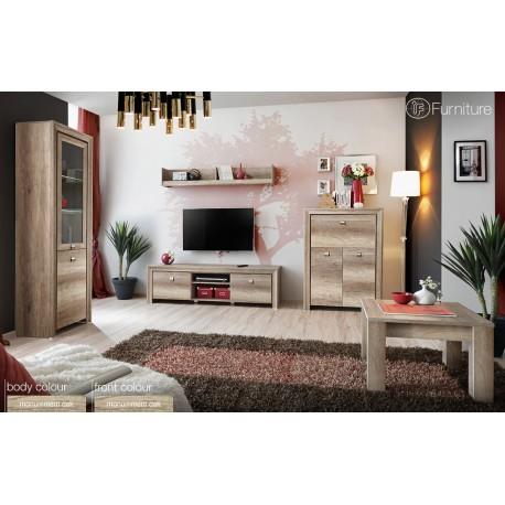 Modern Wall Unit Display Living Room Unit Led Furniture CENTURI Free P&P