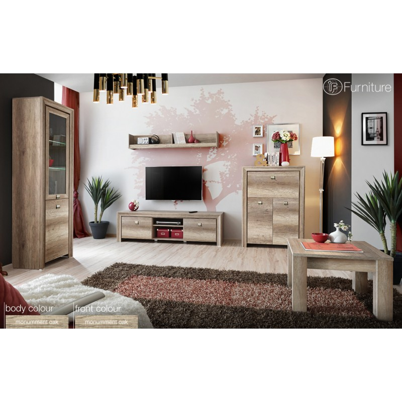 Modern Wall Units For Living Room: Modern Wall Unit Display Living Room Unit Led Furniture