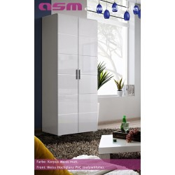 Modern Bedroom Wardrobe Two Door High Gloss Wardrobe KRONE New Free P&P Top