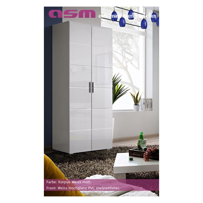 san francisco 8248b 044e0 Modern Bedroom Wardrobe Two Door High Gloss Wardrobe KRONE New Free P&P Top  - IF-Furniture - high quality living room furniture at the best price