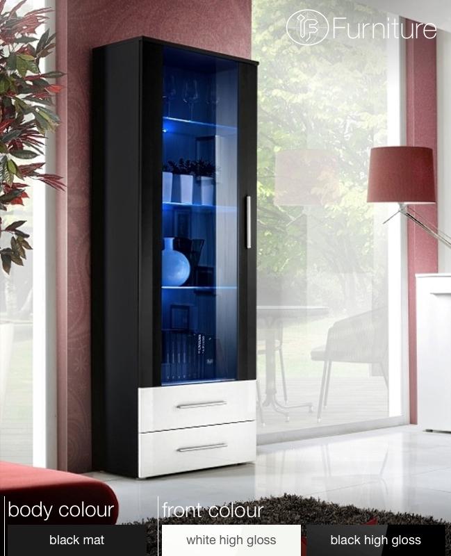 Modern Wall Display Living Room Unit High Gloss Furniture